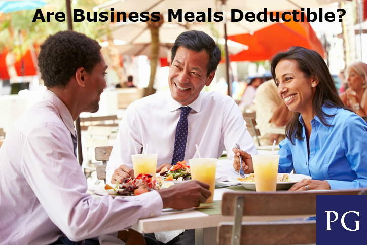 Are Business Meals Deductible?