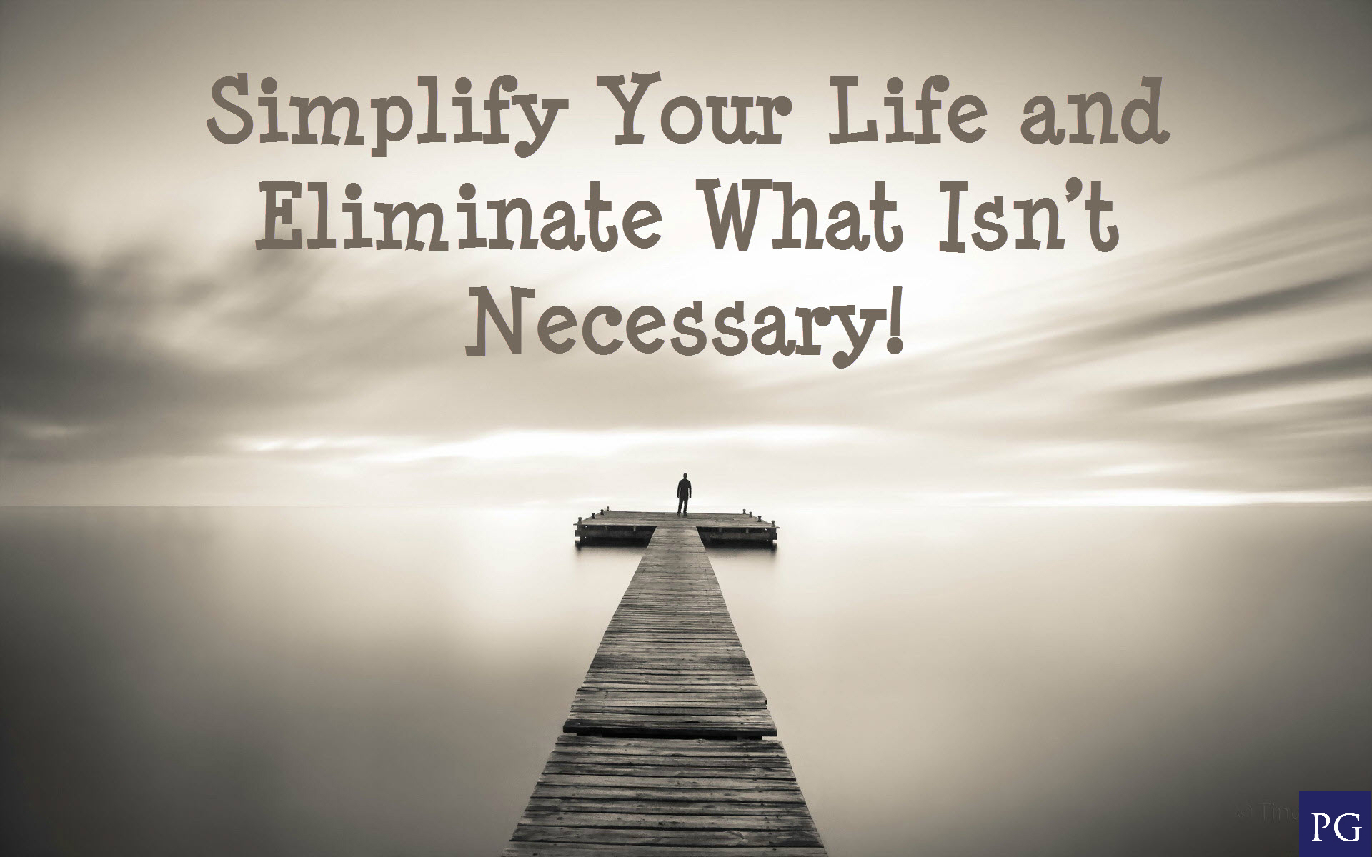 Ten Simple Ways to Simplify Our Lives